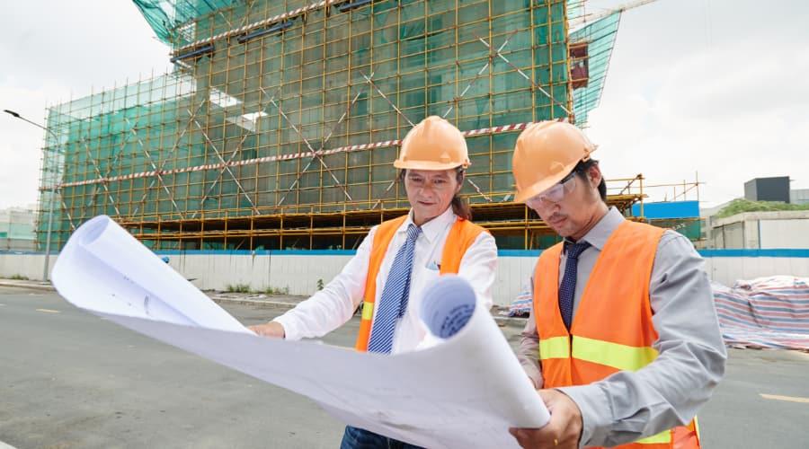 Byggnadsställningar i Vänersborg effektiviserar arbetet